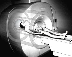 MRI transparent
