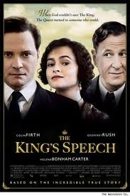 Kings Speech movie poster