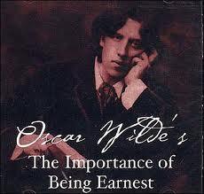 Earnest with Wilde