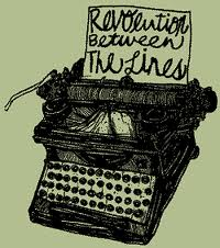 Typewriter revolution between the lines