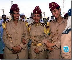 Libya female bodyguard