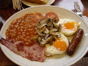 Lond english breakfast