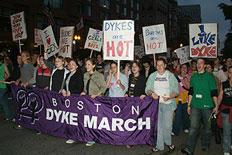 Dyke march banner