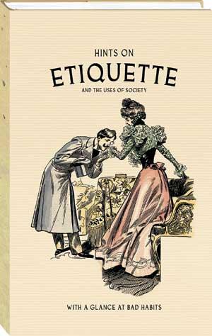 Etiquette hints book kissing hand