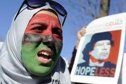 Libyan woman hopeless