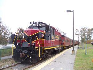 Hyannis train