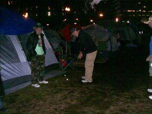 Occupy golf