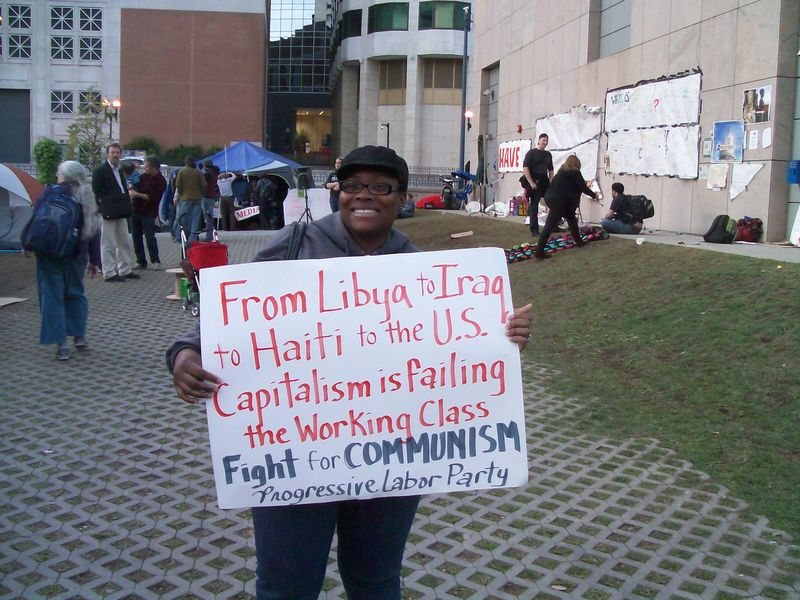 Occupy communist