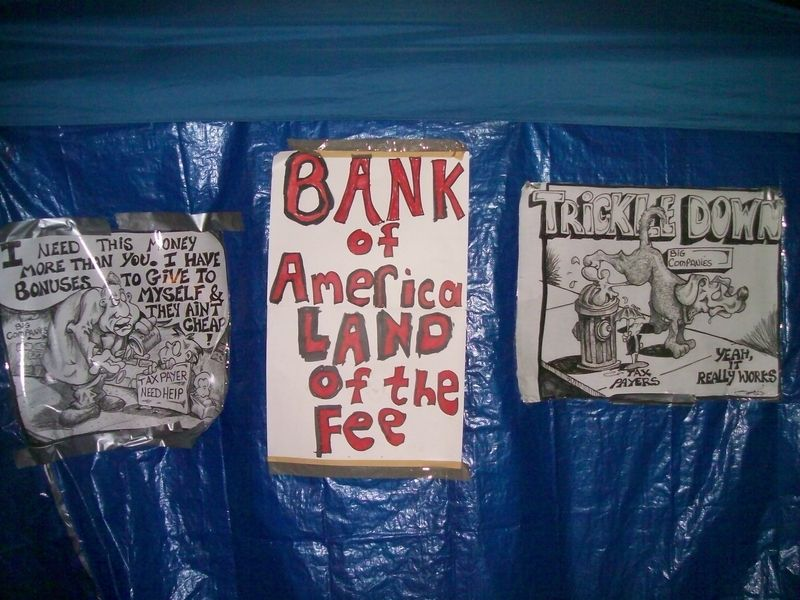 Occupy land of fee