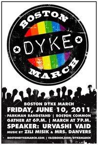 Dyke march logo