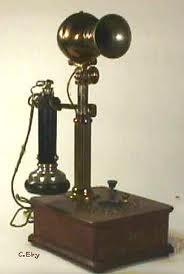 Etiquette old telephone