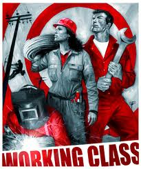 Working class poster