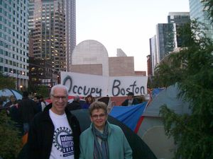 Occupy banner with us