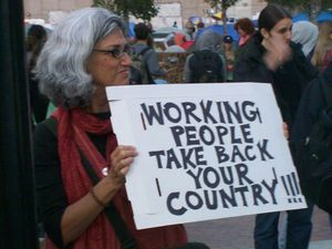 Occupy working people