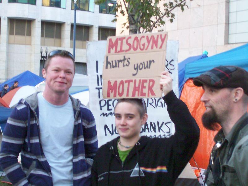 Occupy misogeny