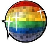 Lond gay glitter ball