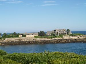 Cousins Island bush compound