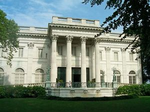 Newport marble house full view