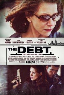 Xmas the debt poster