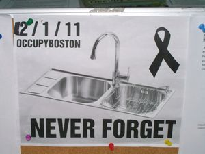 Occupy Boston SINK - Day 67 148-1