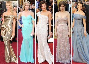 Oscar 2012 identical dresses