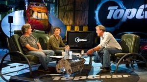 Bbc top gear men sitting