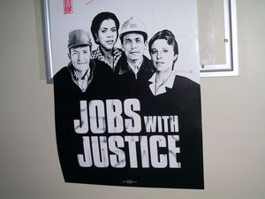 Jobs with Justice workers poster