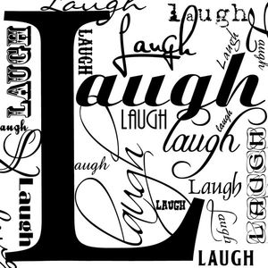 Laugh graphic