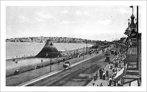Revere beach vintage overview