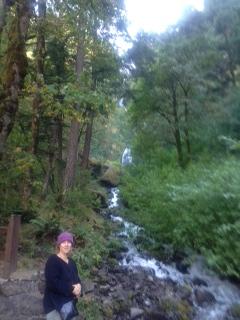 LA kim waterfall