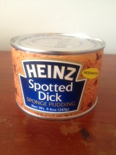 La spotted dick