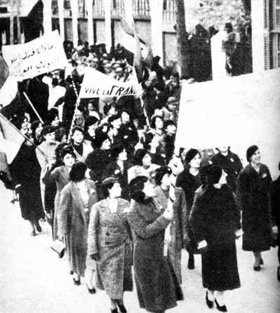 65 women protest