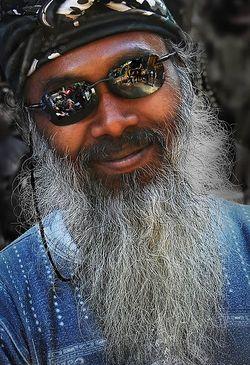 Old long beard