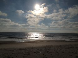 Fernandina beach sun clouds