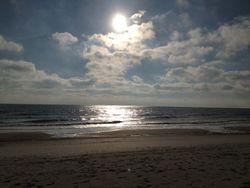 Fernandina beach sun clouds
