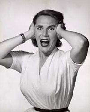 Woman screaming-2