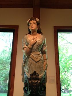 1875 ship figurehead
