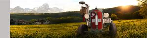 Swiss tractor