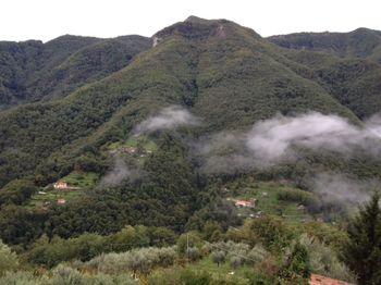 Italy across the valley with fog
