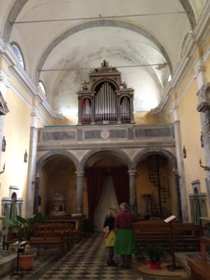 Retignano church