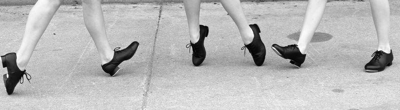 Tap dance feet