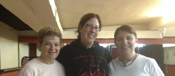 Mary Lesko and me and Shannon cropped