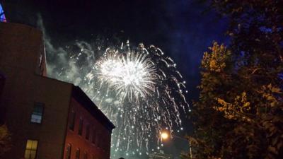 July 4 fireworks NY