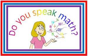 Speak math
