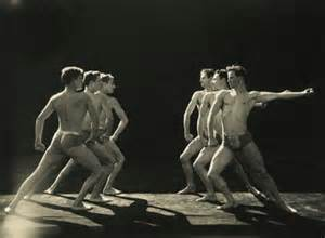 Ted Shawn men dancers
