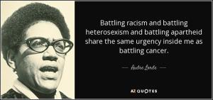 Audre lorde heterosexism racism