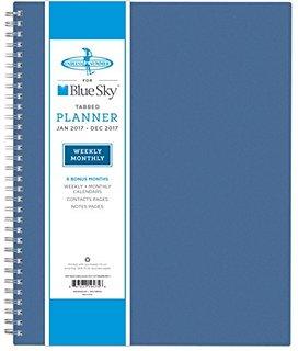 Planner blue sky