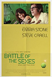 Battle of sexes poster