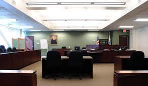 Jury court room