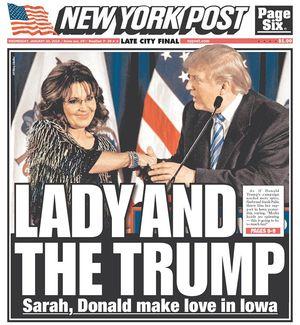 Palin and strump
